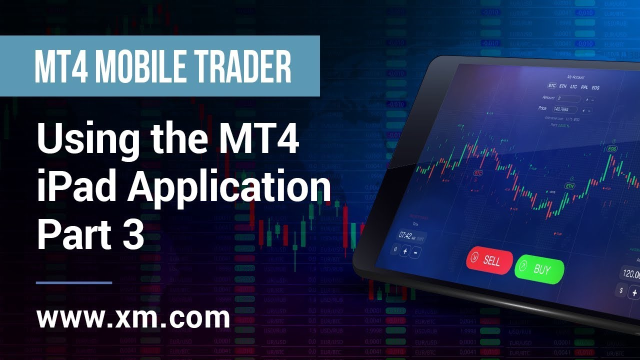 Xm Com Mobile Trader Using The Mt4 Ipad Application Part 3