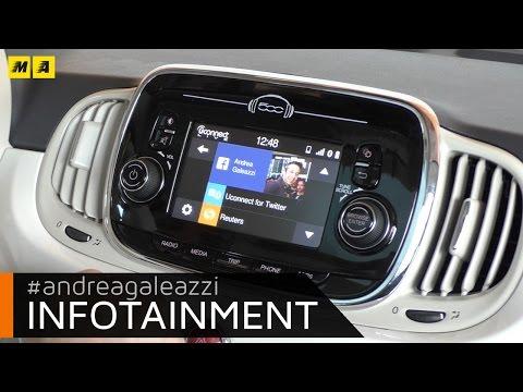 Uconnect Live | prova infotainment Fiat TIPO e 500