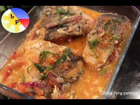 Cardilllong Isda - Fish Sarciado - Pinoy Recipes