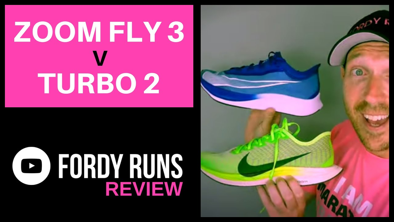 Nike Zoom Fly 3 Vs Nike Zoom Pegasus Turbo 2
