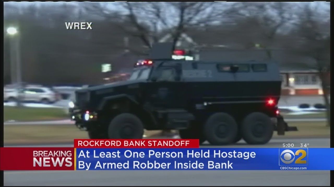 Bank Robbery In Rockford