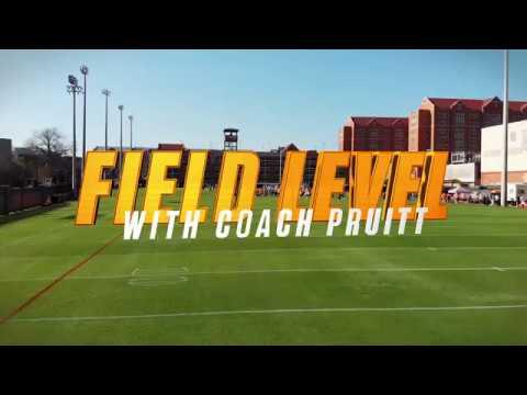 Tennessee Football | Jeremy Pruitt Field Level