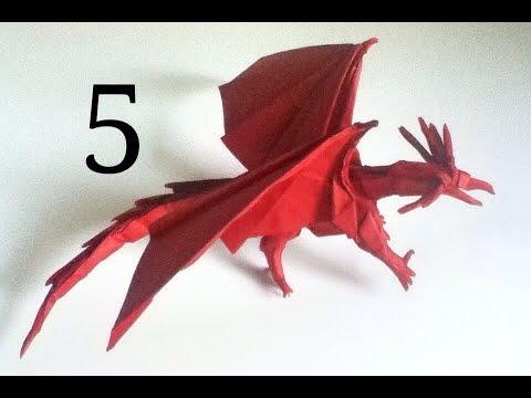 Origami Ancient Dragon Tutorial Satoshi Kamiya