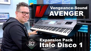 Vengeance Producer Suite - Avenger Walkthrough Italo Disco by Bartek MEJK