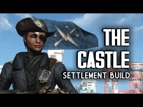 "The Castle ""Lived-in"" Settlement Build - Fallout 4 Settlements"