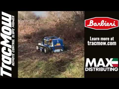 Clearing Brush with TracMow