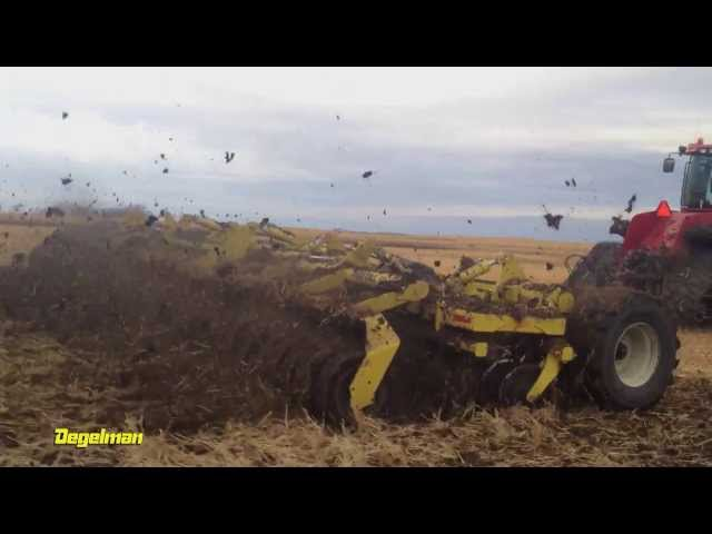 Degelman Pro-Till High Performance Tillage Cultivator - Muddy Conditions