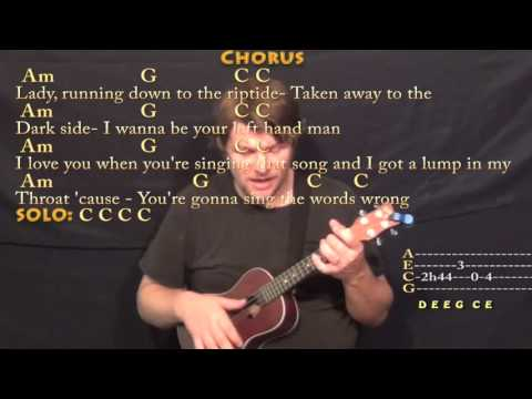 Riptide (Vance Joy) Ukulele Cover Lesson with Chords/Lyrics - YouTube