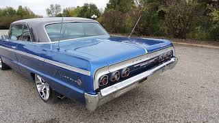1964 impala blue ss impala for sale at www coyoteclassics com