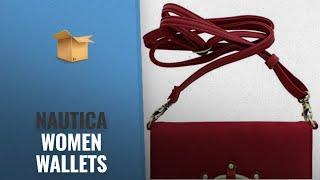 Top 10 Nautica Women Wallets [2018 Best Sellers]: Nautica Wheelhouse Wallet on a String Crossbody