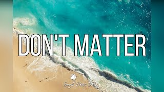 Akon - Don't Matter (Lauv Cover)