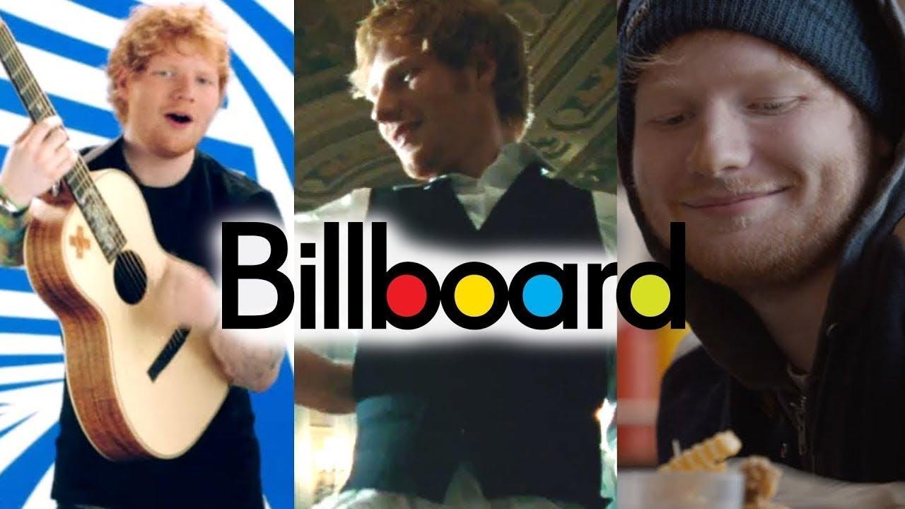 Ed Sheeran Billboard Chart History