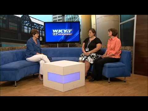 Jan Bright and Jill Keys school health nurses with Lexington Fayette Co Health Dept