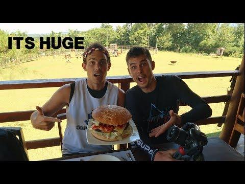 MINDANAOS BIGGEST BURGER!! (Awesome food of the south ft KULAS)
