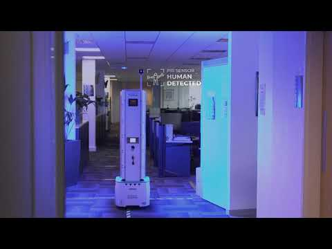 UV-C robot helps businesses win the fight against Covid-19