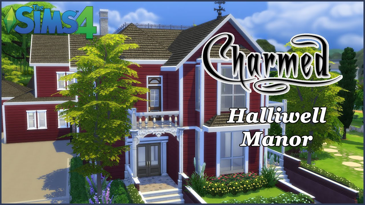Sims 3 Mansion Floor Plans The Sims 4 Halliwell Manor Charmed Part 1 House Build