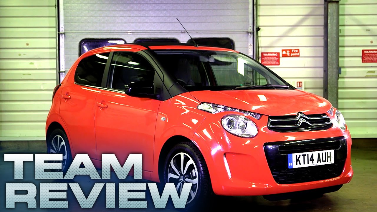The Citroen C1 Airscape (Team Review) - Fifth Gear - YouTube