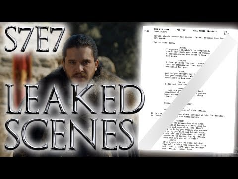 Season 7 Episode 7 Leaked Scenes Part 2 ! | Game of Thrones Season 7 Episode 7