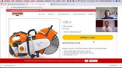 PayPal und PayPal-Angebote bei Gartentechnik.com einrichten und richtig nutzen