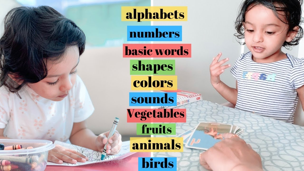 HOW to teach 2 year old   WHAT to teach 2 year old baby at ...