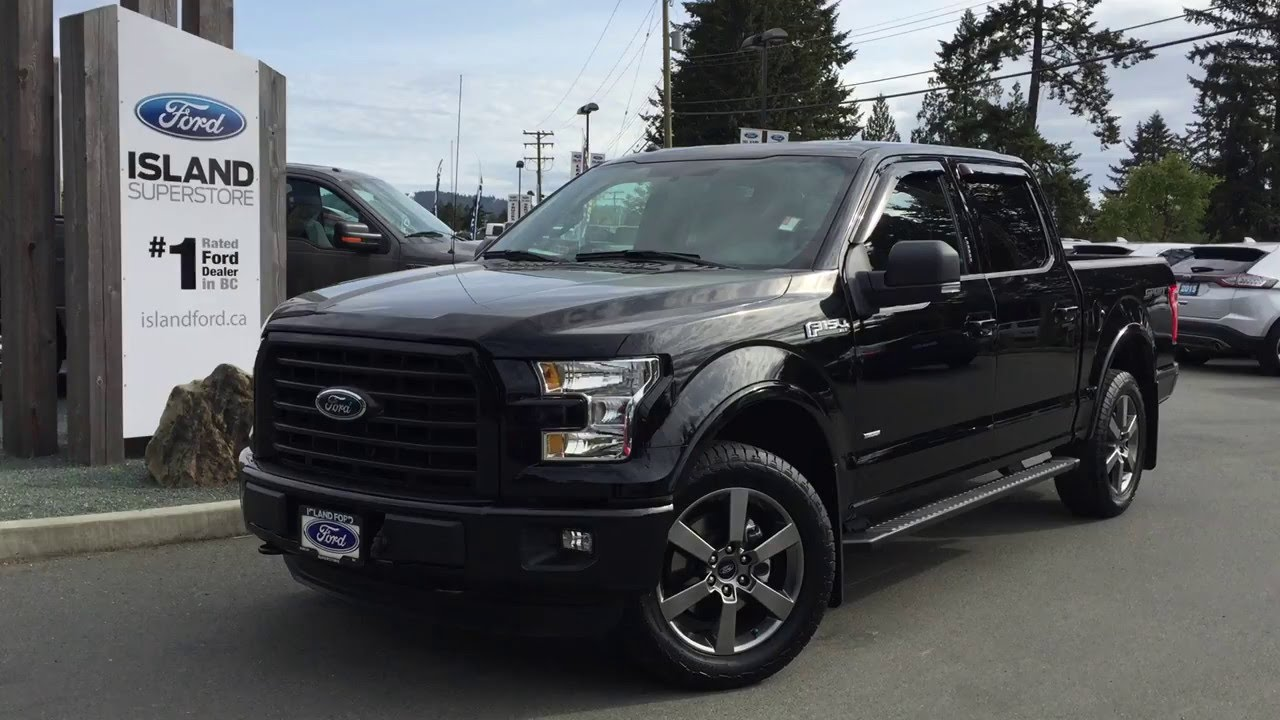 2016 ford f 150 xlt sport supercew review island ford youtube. Black Bedroom Furniture Sets. Home Design Ideas