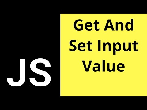 Javascript - How To Get And Set Input Text Value In JS  [ With Source Code ]