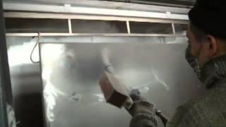 Покраска двери порошковой краской(Показан процесс подготовки и самой покраски двери порошковою краской. http://ppiva.kharkov.ua/, 2012-10-22T11:42:49.000Z)