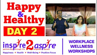 Happy & Healthy 21-Day Challenge - Day 2 Breathe More Laugh More