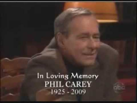 One Life to Live: In Loving Memory-Phil Carey