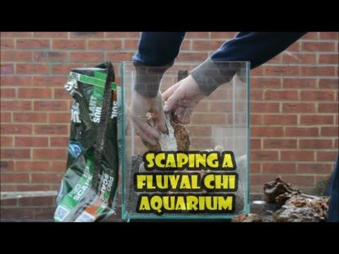 144   How To Create A Mountain Aquascape On A Fluval Chi Aquarium