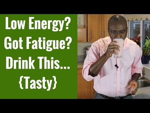 Smoothie for Fatigue, Tiredness and Low Energy (Fight Fatigue)
