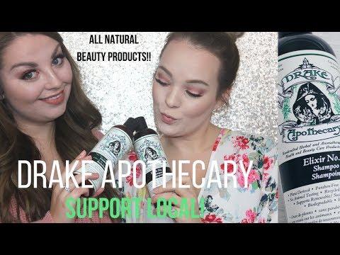 Drake Apothecary ALL NATURAL Shampoo + Conditioner Review | Vogue Bandwagon |