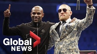 Mayweather vs. McGregor Post-Fight Press Conference thumbnail