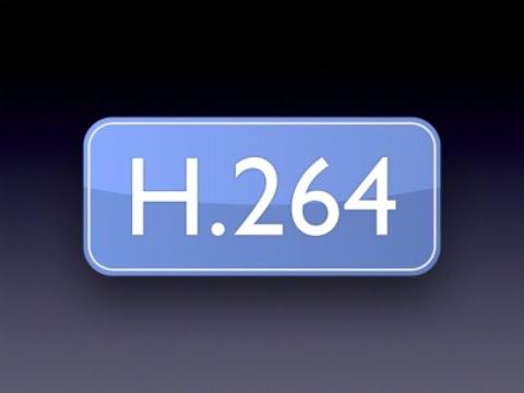 Как воспроизвести файл с расширением h264