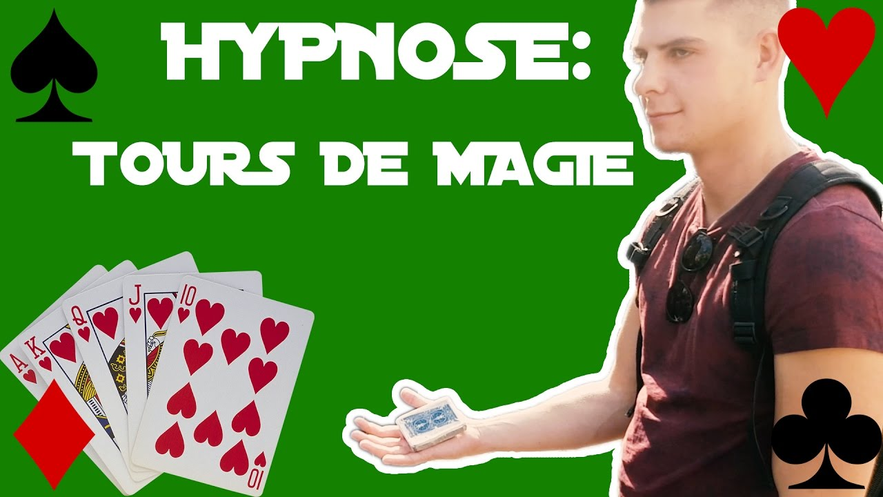 tour de magie facile hypnose