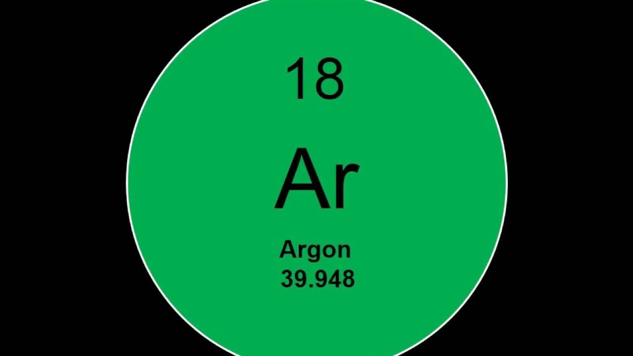 Element 18 - Argon Facts - YouTube