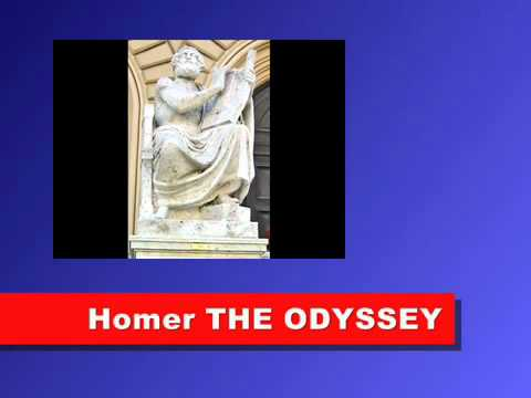 a literary analysis of the greek mythology in the odyssey by homer