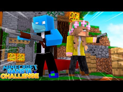 LITTLE KELLY IS THE BIGGEST GANSTA GOING !! Minecraft W/ Sharky and Scuba Steve