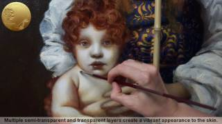 Painting a Portrait of a Child - Madonna and Child