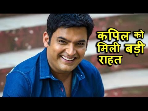 Big relief to Kapil after his fight with Sunil Grover