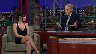 Nicole Richie on Letterman