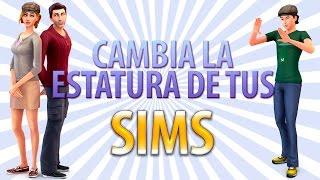 COMO CAMBIAR LA ALTURA DE LOS SIMS | Los Sims 4 Mod