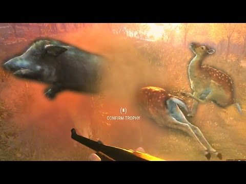 Поведение животных и лаги | theHunter: Call of the Wild | gameplay | closed beta