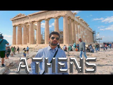 Athens Greece By Rajab Javid video in Urdu 2015