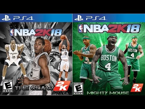NBA 2K18 Cover Athlete - NBA MVP CANIDATES