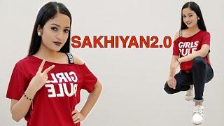 Sakhiyan2.0- BellBottom   Akshay Kumar, Vaani Kapoor   Easy & Simple Dance Steps   Aakanksha Gaikwad