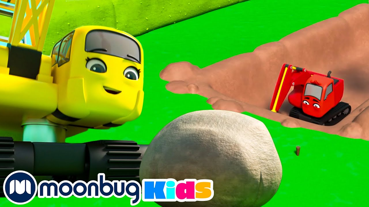 Blockage in the Trench - SUPER DIGLEY & DAZEY ADVENTURES @Digley and Dazey - Trucks For Kids