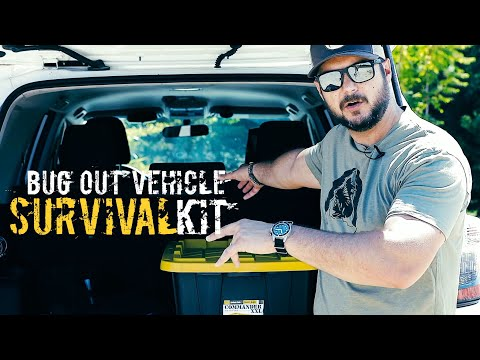 Bugout Vehicle Survival Kit - Part III