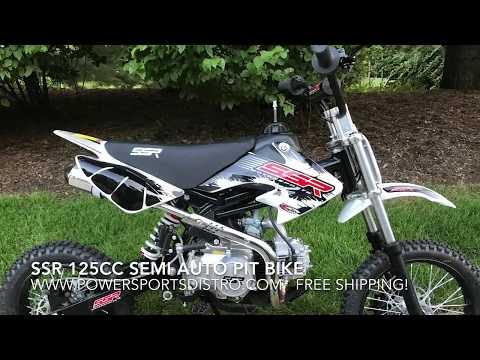 SSR 125cc Semi Automatic Pit Bike / Dirt Bike by Powersports Distro LLC.