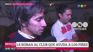 Robo en un club de San Francisco Solano - El noticiero de la gente